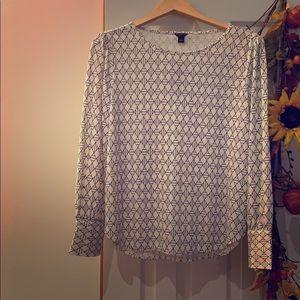 Ann Taylor blouse petite size L